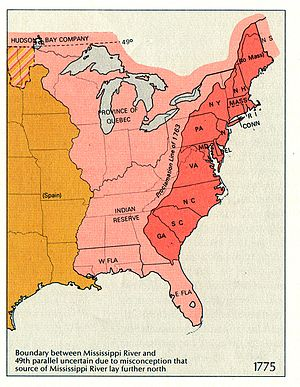 Illinois County, Virginia - A portion of the British Province of Quebec, south of the Great Lakes, briefly became Illinois County, Virginia, during the American Revolution