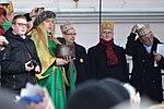 02018 0413 Umzug Heilige Drei Könige in Sanok, Politiker der Regierungspartei Recht und Gerechtigkeit.jpg