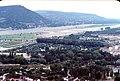 042L07060778 Blick vom Donauturm, Richtung Leopoldsberg, rechts Bau der Donauinsel.jpg