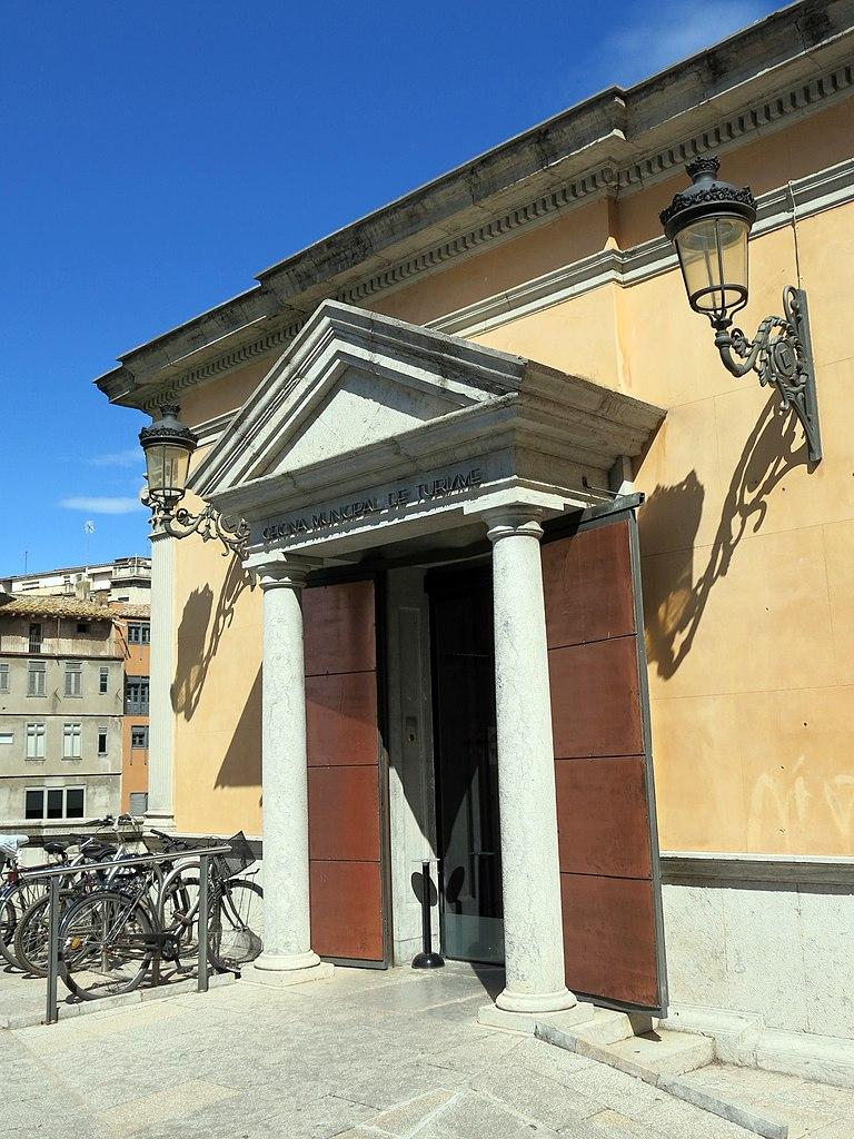 File 045 oficina de turisme antiga biblioteca rambla de for Oficina de extranjeria girona