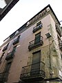 052 Casa Ramon Bosch, pl. Sants Màrtirs 15, façana del c. Sant Pau (Vic).jpg