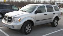 Dodge Suv List >> Dodge Durango Wikipedia