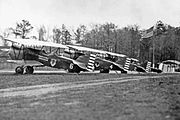106th Observation Squadron Douglas O-38s