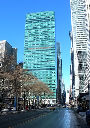 NYNEX - Corporate HQ, 1095 Avenue of the Americas
