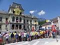 11ème étape Tour de France 2018 (ligne de départ à Albertville).JPG