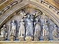 111 Catedral de València, porta dels Apòstols, timpà.JPG