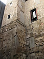 111 Muralla romana darrere el Pati Llimona.jpg