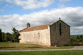 The chapel of Saint-Jean-Baptiste, in Bussière-Boffy