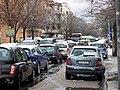 12 February 2010 - Snowfall in via di Torrevecchia, Rome.jpg