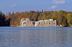Koknese Castle - Image: 12 Kokneses pils no pret kr 29sep 07
