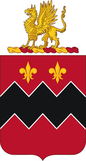 12th Coast Artillery (United States) - Coat of arms