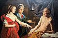 1638 Stom Sarah fuehrt Abraham Hagar zu anagoria.JPG