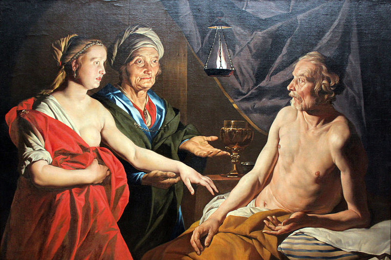 File:1638 Stom Sarah fuehrt Abraham Hagar zu anagoria.JPG
