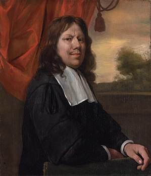 Jan Steen - Self portrait of Jan Steen (1670)