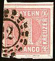1850issue 1kr Bayern 32 Offen SEM 3Ia.jpg