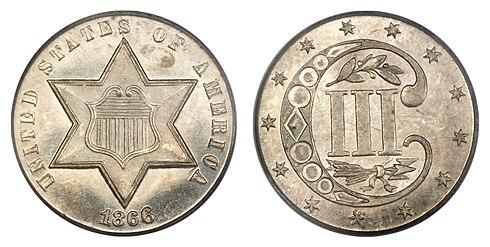 Three Cent Silver Wikipedia