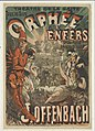 1878 poster for Jacques Offenbach's Orphée aux enfers - Original.jpg