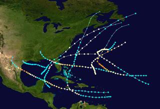 1880 Atlantic hurricane season hurricane season in the Atlantic Ocean