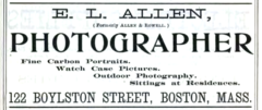 1896 Allen photographer advert Boylston Street in Boston.png
