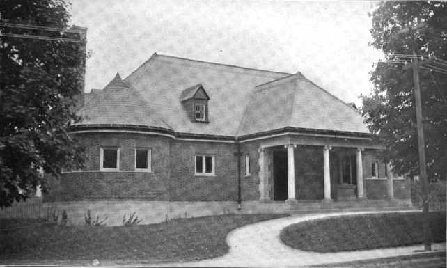 1899 NorthAttleborough public library Massachusetts