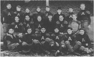 National Football League (1902) - The Philadelphia Athletics of the 1902 National Football League
