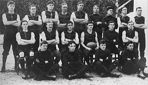 1908 SAFL season - 32nd season Pictured above is the 1908 West Adelaide premiership team.