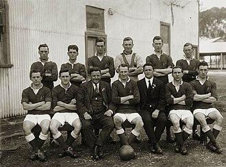 History of the Australia national soccer team - Australian team in 1924