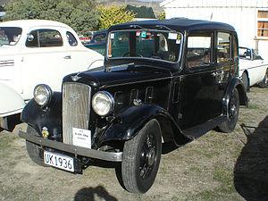 Austin 10 - Austin front