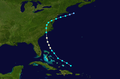 1944 Atlantic hurricane 3 track.png