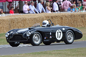 1953 World Sportscar Championship - Aston Martin placed third with its DB3 (pictured) and DB3S models