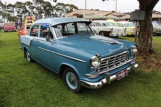 Holden FC - Image: 1958 60 FC Special Sedan==