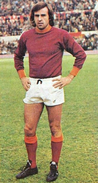 Giorgio Morini - Giorgio Morini with A.S. Roma in 1974
