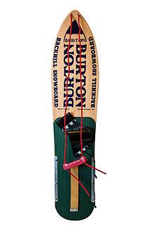 2352f58142 1981 Burton snowboard in museum condition