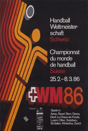 Description de l'image 1986 World Cup Handball Poster.png.