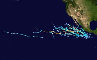 1990 Pacific hurricane season hurricane season in the Pacific Ocean