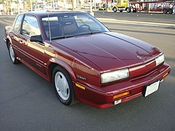 1991 Oldsmobile Cutlass Calais Int'l Series (2d).jpg