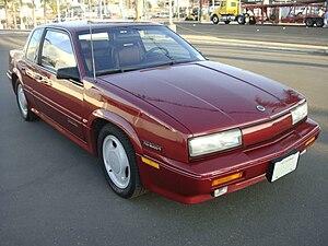 Oldsmobile Cutlass Calais - 1991 Oldsmobile Cutlass Calais International Series coupe