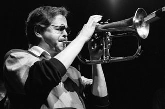 Kenny Wheeler - Kenny Wheeler performing with the United Jazz + Rock Ensemble, 1992
