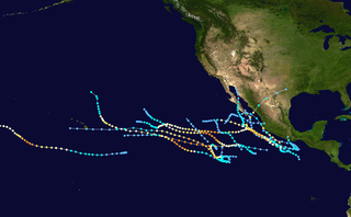 1993 Pacific hurricane season Period of formation of tropical cyclones in the Eastern Pacific Ocean in 1993