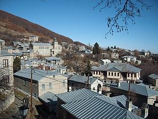 Nymfaio Place in Greece