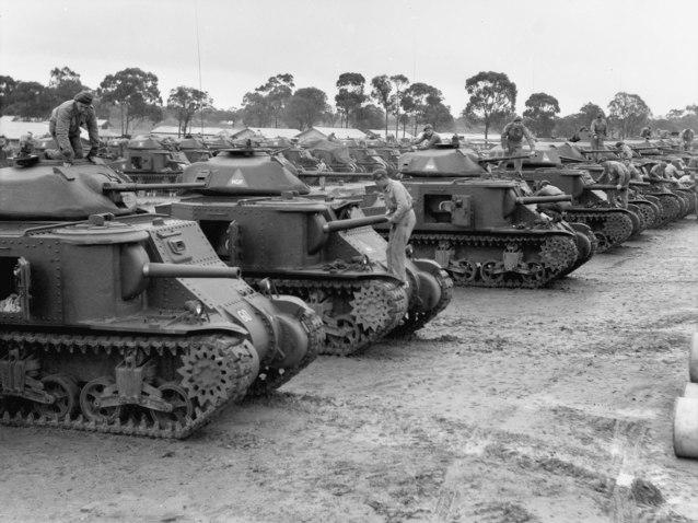 1st Armoured Div (AWM 025473)