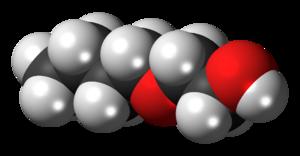 2-Butoxyethanol - Image: 2 Butoxyethanol 3D spacefill