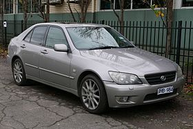 2003 Lexus IS 300 (JCE10R) Platinum Edition sedan (2015-07-03) 01.jpg