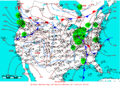 2006-01-11 Surface Weather Map NOAA.png