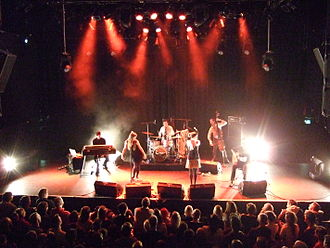 Nouvelle Vague (band) - Nouvelle Vague playing Rockefeller Music Hall, Norway in February 2007