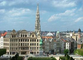 Brusel, náměstí Grand Place zdroj:ia.wikipedia.org