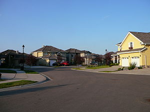 Donsdale, Edmonton - Residential street in Donsdale