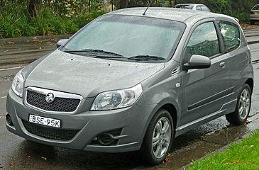 Facelift Holden Barina 3 Door