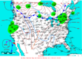 2009-01-22 Surface Weather Map NOAA.png