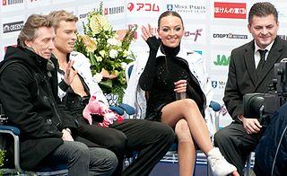 Alexei Gorshkov Russian ice dancing coach